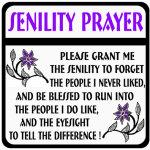 Novelty-Senility-Prayer