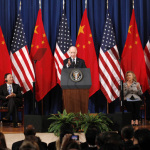 U.S. Vice President Biden speaks at the third annual U.S.-China Strategic and Economic Dialogue (S&ED) in Washington